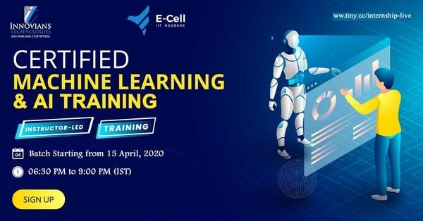 Machine Learning & AI Instructor Led Training